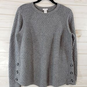 J. Jill  Crew Neck Sweater